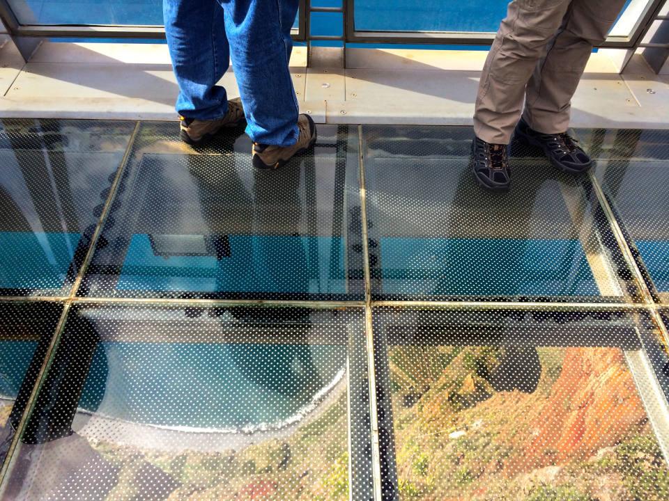 Plexigl Floor Vacation Photos